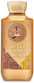 【Bath&Body Works/バス&ボディワークス】 シャワージェル スパイスジンジャーブレッドスワール Shower Gel Spiced Gingerbread Swirl 10 fl oz / 295 mL [並行輸入品]