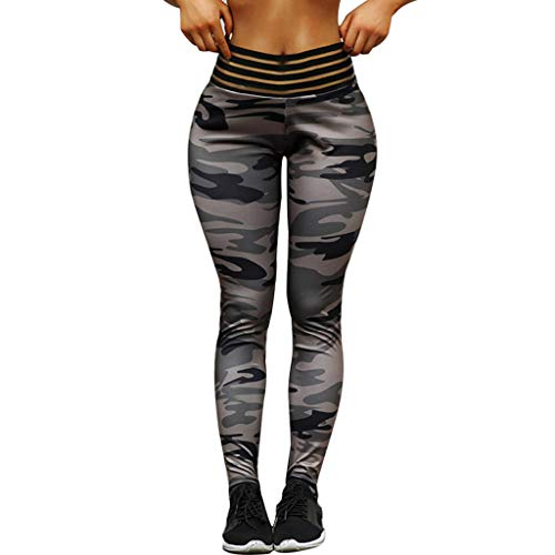 UOKNICE Yoga Pants for Womens, Running Sport Gym Stretch Workout Printed Control Fitness Athletic Legging Trousers Types Army Compression Hard Tail Beginners Burgundy Two Piece Style