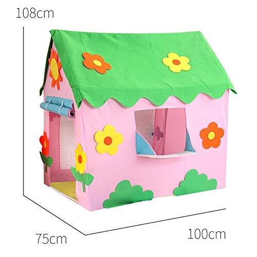 D.ragon Neuer Kinderzelttunnel, Kinderzelthaus Indisches Zelt, Spielzeug zum Spielen im Freien, Geburtstagsgeschenke für Kinder