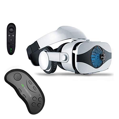 XIYAN Set di Giochi VR Occhiali irreali, Occhiali Lente Casque Casco Occhiali 3D VR Realtà virtuale Cuffie Lunetta Viar Binocolo...