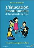 Education émotionnelle - De la maternelle au lycée - SOUFFLE D'OR - 11/04/2014
