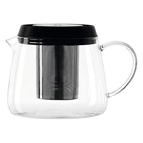 montana :soul Teekanne, Volumen 1,6l, B/H/T: 19,6/13,2/15cm, Klarglas, Kunststoff und Edelstahl, 057238