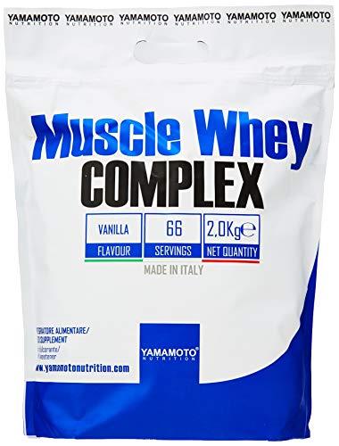 Yamamoto Nutrition Muscle Whey Complex, Vanilla, 2.04 kg,P36268