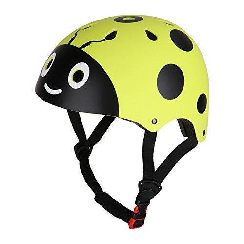 CHICTRY Casco Bicicleta Infantil Ciclismo Casco de Seguridad para Niños Ajustable Casco...