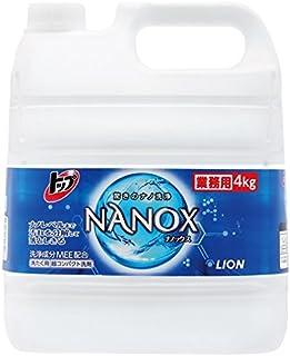 ライオン 業務用 トップNANOX ナノックス 4kg×3本入