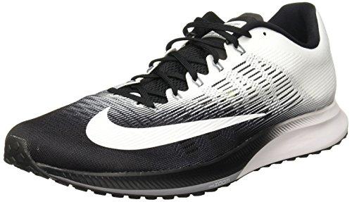 Nike Men's Air Zoom Elite 9 Running Shoes, Black (Black/Stealth/White), 6.5 UK 40.5 EU