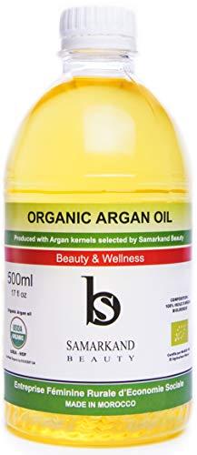 500 ml Huile d'Argan BIO 100% Pure de Première...