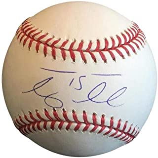 Tim Tebow Autographed Signed Auto MLB Baseball Tebow Holo - Certified Authentic