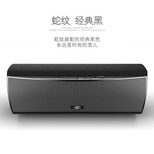 qiyanQ30 Wireless Bluetooth Lautsprecher Übergewicht Subwoofer Desktop Cannon Outdoor Computer Telefon Audio Schwarz