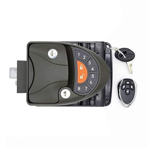 RV Lock V4 Keyless Entry Handle w/Integrated Keypad & Fob RV door lock for cavaran camper trialer