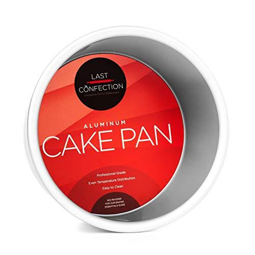 Last Confection 6' x 4' Deep Round Aluminum Cake Pan - Professional Bakeware