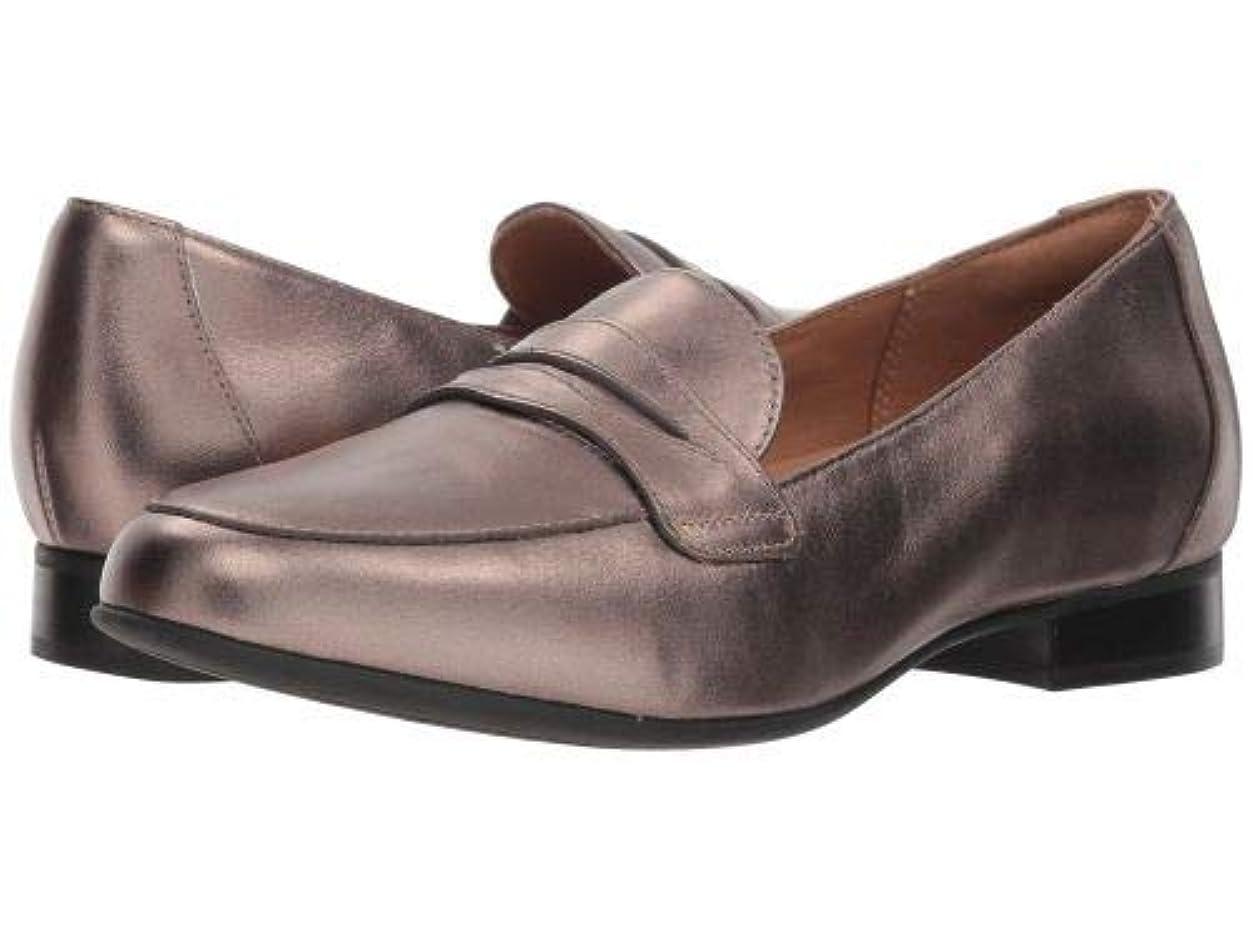 物足りない雑多な雄弁Clarks(クラークス) レディース 女性用 シューズ 靴 ローファー ボートシューズ Un Blush Go - Pebble Metallic Leather [並行輸入品]