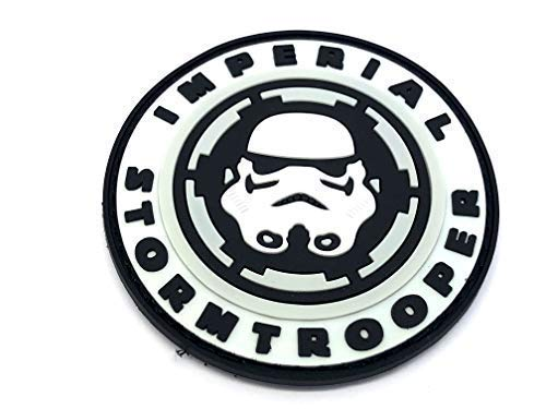 Imperial Stormtrooper Cosplay Softair PVC Patch