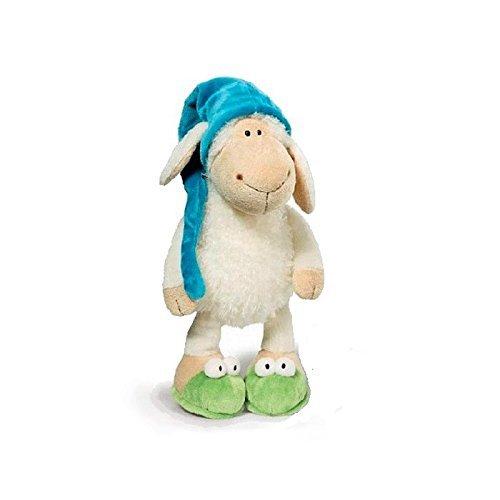Fymmm`shop Peluches 25Cm Muy Lindo Sleepy Sheep Juguete De Peluche Creativo Juguete De Peluche Muñeca Oveja Niños Bebé Juguete