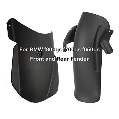 XIXI-Home Adatta per BMW F800GS ADV F700GS F650GS 2013 2014 2015 2017 2017 Accessori per Moto Fender Parafango Frontale Sezione Anteriore Splash Guard Guard Hugger (Color : One Set)