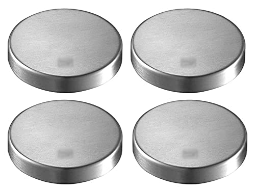 Knife Block Creative 304 Stainless Steel Round Magnetic Knife Holder Wall Mount Knife Rack for Magnet Knife Holder KitUtensil Knife Holder Knives Sets WSYGHP (Color : Pack of 4)