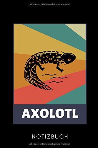 AXOLOTL NOTIZBUCH: A5 Notizbuch PUNKTIERT Geschenk für Axolotl Fans Besitzer | Buch | Amphibien | Aquarium | Haustierbesitzer | Terrarien | Geschenkidee für Kinder