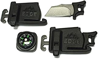 para Spark, Paraspark, para-Spark, para-Claw Knife Buckle with Compass and fire Striker