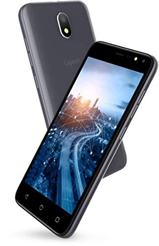 Gigaset GS80 teléfono móvil Libre (Pantalla de 12,7 cm (5 Pulgadas), Memoria de 8 GB, Android Oreo 8.1 Go Edition) - Gris