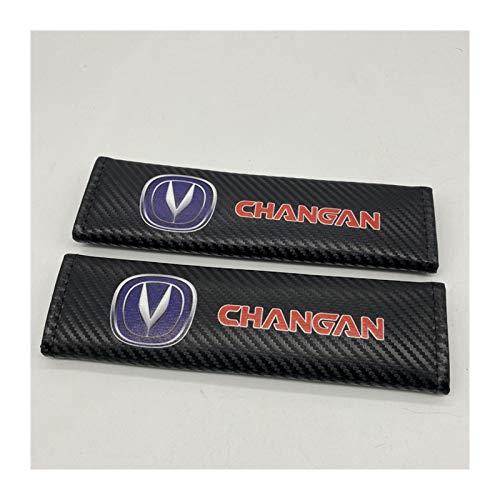 Almohadillas para Cinturón de Seguridad Modelo de la fibra de carbono de coches sefety cinturón de seguridad Isofix cubierta infantil del cinturón de seguridad hombro Pad Icompatible Protección con Ch