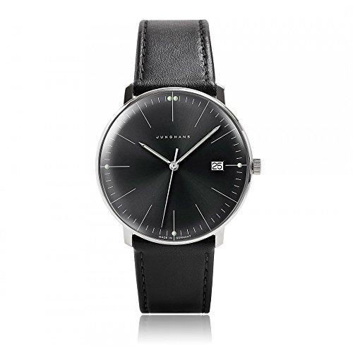 Reloj Junghans - Max Bill - Quartz Date - Negro