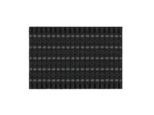 ASTRA Premium Außenbereich-Matte - Poly Brush - strapazierfähige Fußmatte - schwarz/anthrazit - 40 x 60 cm