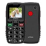 Big Button Mobile Phone for Elderly, Artfone Senior Mobile Phone GSM Dual SIM