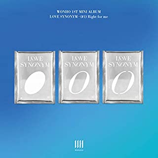 MONSTA X WONHO [LOVE SYNONYM #1. RIGHT FOR ME] 1st Mini Album [VER.2] VER. 1ea CD+56p Photo Book+32p Lyrics Book+1ea Stick...