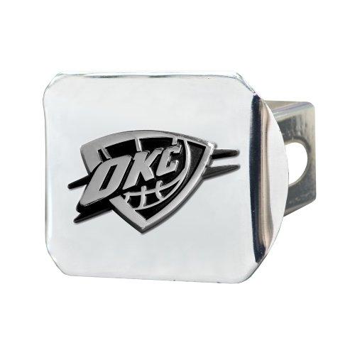 Fanmat NBA Oklahoma City Thunder - Cubierta de enganche cromada
