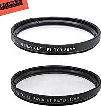 55mm and 58mm Multi-Coated UV Protective Filter for Nikon...