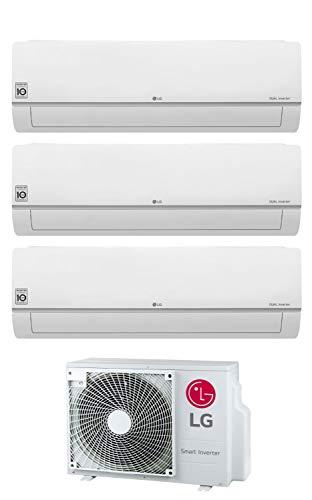 Trial Split Inverter Klimagerät 7000+9000+12000 Btu Klasse A+++/A+ Gas R32 Wi-Fi MU3R19 UE0 Serie Libero Plus