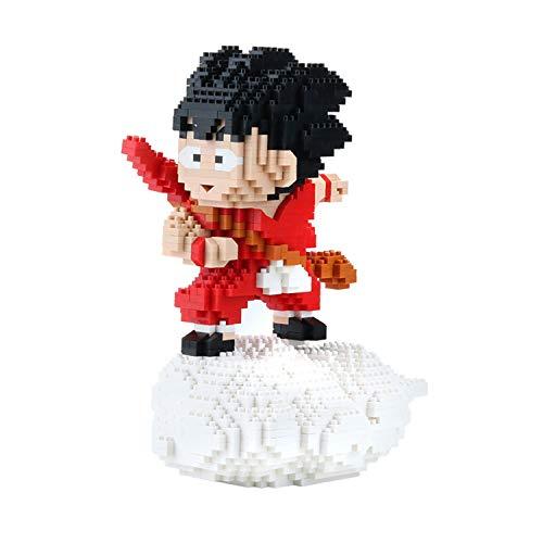 Nano Mikroblöcke Dragon Ball Goku Diamond Mini Bausteine 3D Puzzles DIY Pädagogisches Stressabbau Spielzeug Geschenk Für Erwachsene Kinder