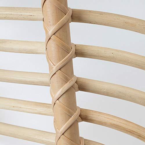 BestOnlineDeals01 BUSKBO Sillón de ratán, 42 x 72 x 63 cm, duradero y fácil de cuidar. Sillones de ratán. Sillones y chaise longues. Sofás y sillones. Muebles. Respetuoso con el medio ambiente.