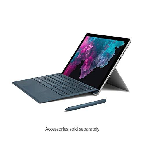 Microsoft Surface Pro 6 12.3-Inch Tablet - (Silver) (Intel m3-7Y30, 4 GB RAM, 128 GB SSD, Windows 10 Home, 2018 Model)