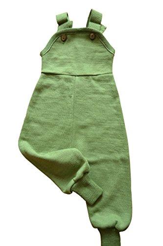 Reiff Latzhose Wolle/Seide Gr. 62 - 92 (62/68, grün)