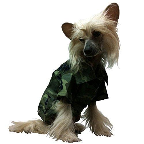Green Camouflage pour Homme M - Brustumfang 33 cm vert