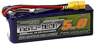 Turnigy Nano-tech 5000mah 4S 25~50C Lipo Pack w/XT-90