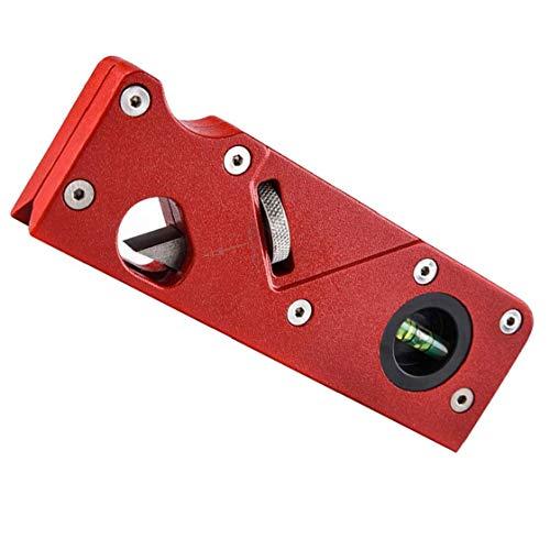 Las Herramientas De Recorte, Manual De Bricolaje 45 Grados Rojo Bisel Bloque Planer Biselado Carpintería Metálica Bloque