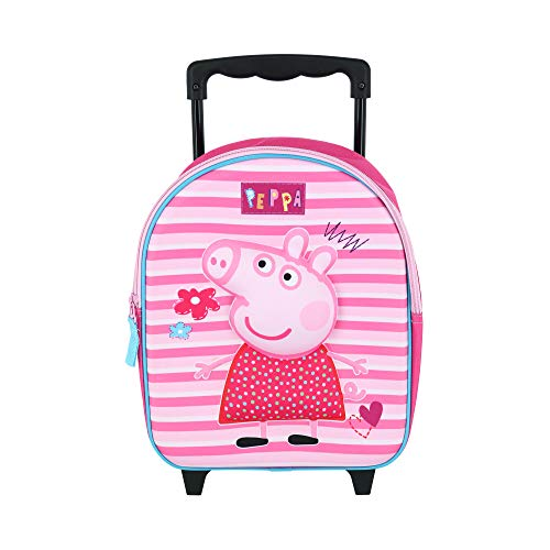La mejor mochila con ruedas de peppa pig: Peppa Pig Modern Rosa