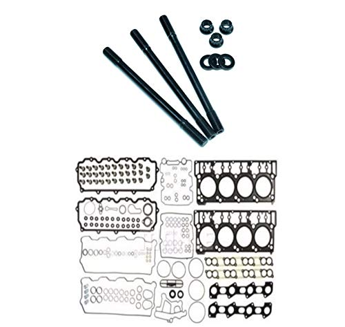 ARP Head Stud Kit & OEM Style 18mm Cylinder Head Gasket Set For 2003-2006 Ford Powerstroke...