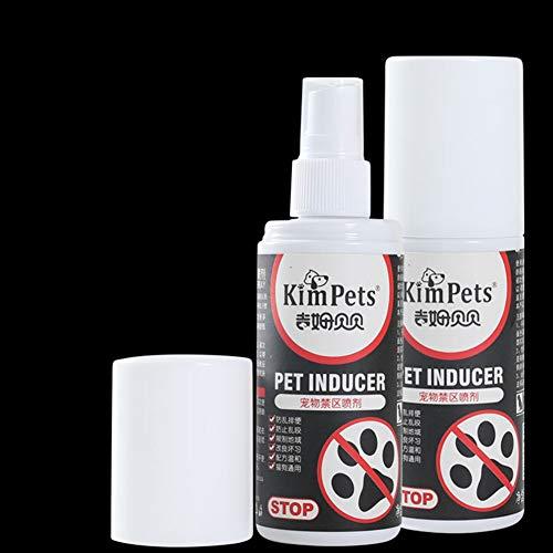 NA Pet Accessories 100 ml Haustier eingeschränkter Bereich Spray Trainingsspray Induktion für Hunde Welpen Positionierung Defekation
