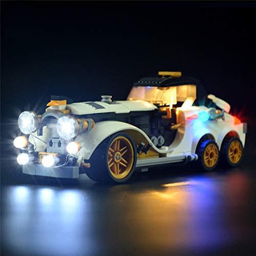 Juego De Luces Led para (Batman Movie The Penguintm Arctic Roller) Modelo De Bloques De Construcción - Kit De Luces Compatible con Lego 70911 - Modelo No Incluido