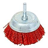 Bellota 50826-75B - Cepillo industrial taza, grano de nailon de 75 mm