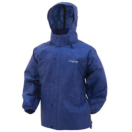 FROGG TOGGS Pro Action Regenjacke, Schwarz, Größe M, Herren, Pro Action/Advantage Rain Jacket, blau, XX-Large