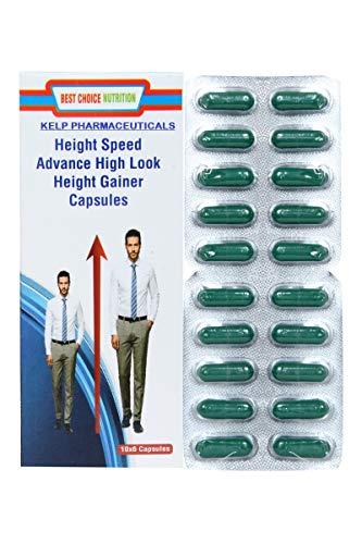 KELP PHARMACEUTICALS Best Choice Nutrition Speed Ayurvedic Height Supplement -60 Capsules