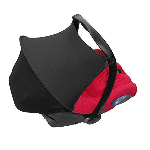 Aveanit Capota Parasol Compatible con Maxi Cosi Cabriofix UV50+, Color Negro