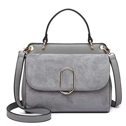 Miss Lulu Women Top Handle Bag S...