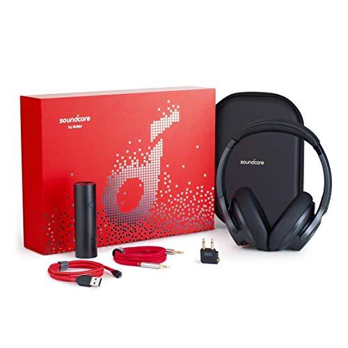 So&core Life 2 Geschenkset, Limited Edition, mit Over-Ear Kopfhörern, PowerCore 5000 Powerbank, PowerLine+ Mikro-USB-Kabel, Premium AUX-Kabel, Flugzeug-Adapter & Reiseetui