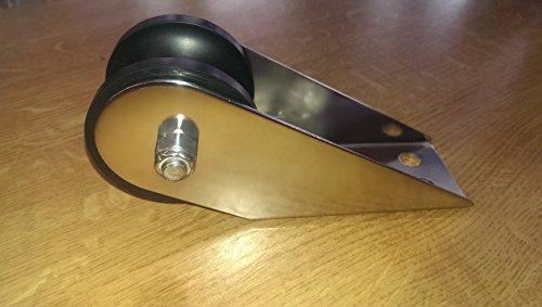Ankerrolle NIRO für Anker bis 6 kg ideal für Schlauchboote und Ruderboote