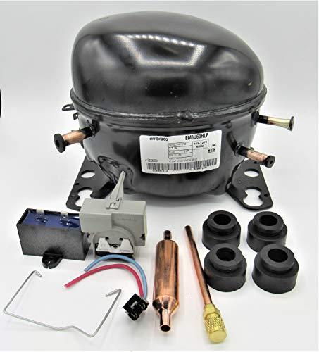 Embraco Refrigerator Compressor EM3U60HLP .25HP 623btu